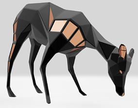 3D print model Polygonal Impala Parametric