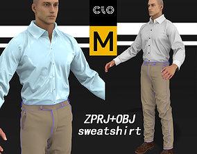 Shirt Khaki pants Marvelous Designer Zprj 3D