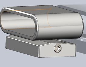 TMG Adjustable Truck Bumper Sensor 3D printable model 1