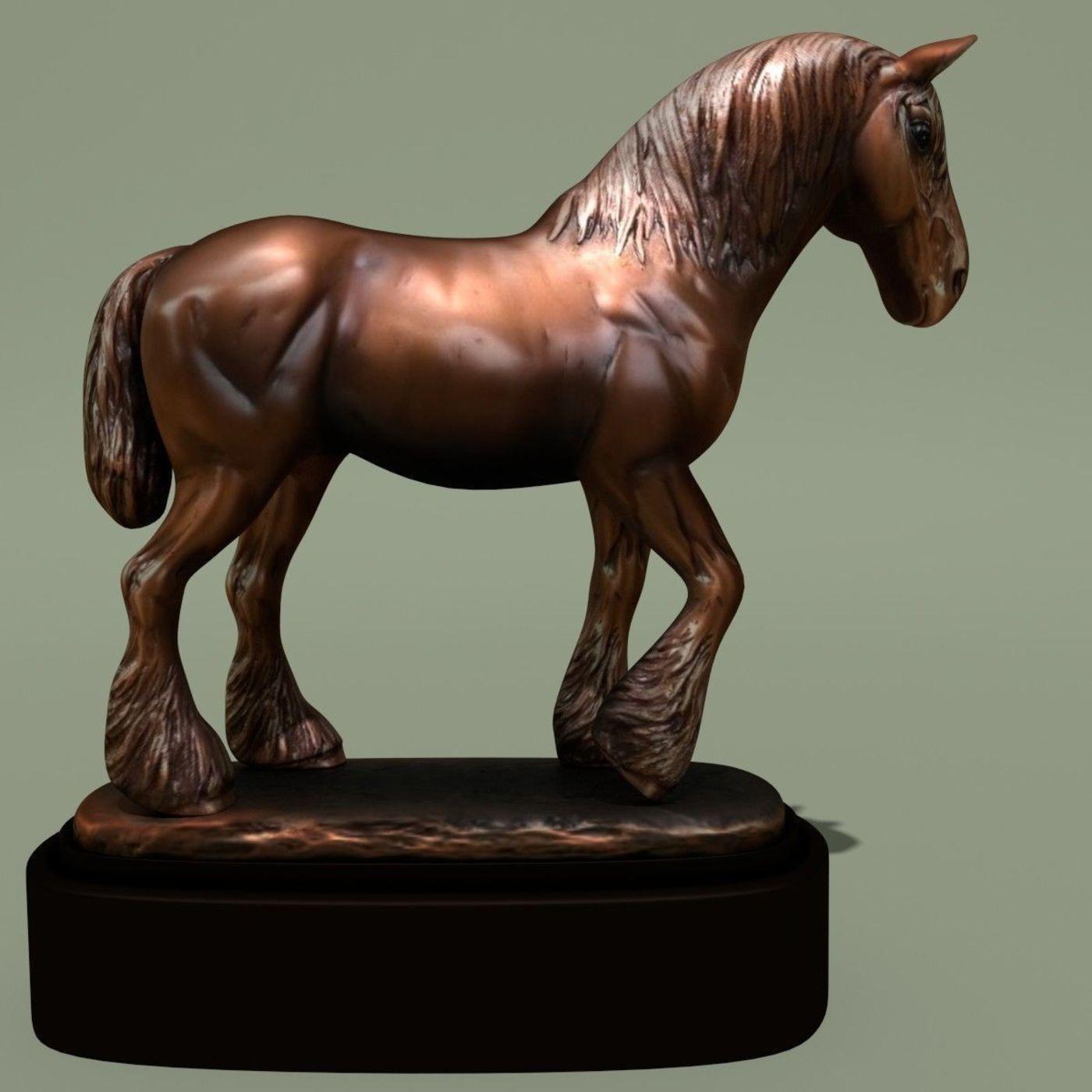Horse Statuette 2I
