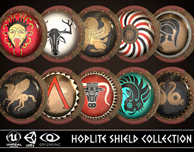 Hoplite Shield Collection 1 3D