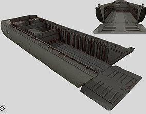 3D model LCVP Landing Craft