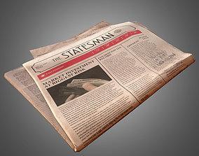 Newpaper - PBR Game Ready 3D asset