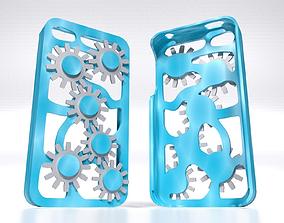 3D print model Mechanical Gears Iphone 5 5s