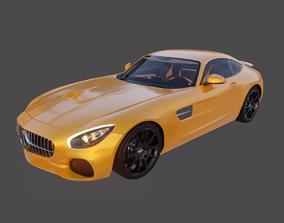 3D model Star GT Racing Car