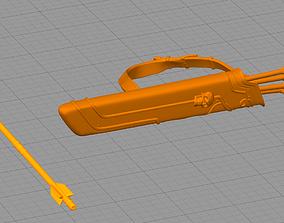 Silvanas bow 3D printable model