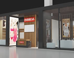 3D Exhibition Stall Size 11 m x 8 m Height 366 cm