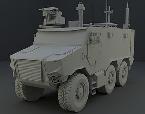 3D model Griffon VBMR - French Army Vehicule