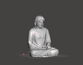 3D print model Jesus meditating