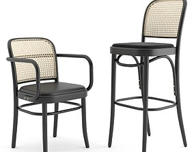 3D restaurant-chair N 811 Hocker by THONET VIENNA