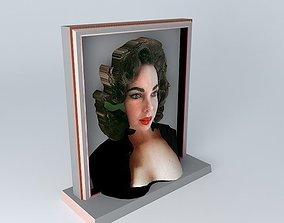 ELIZABETH 3D Sculpture