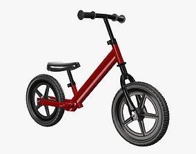 3D model Children balance bike classic
