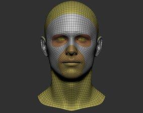 3D model head basemesh best topology