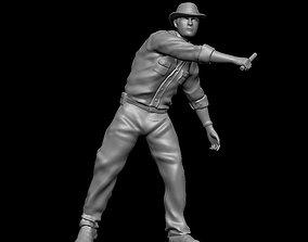 Dr Alan Grant Jurassic Park 3D print model