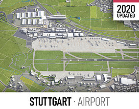 Stuttgart Airport - STR 3D model