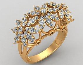 3D printable model Flower Style Engagement Wedding 2