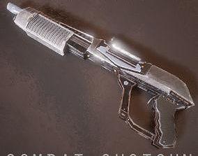 Sci-fi Futuristic Combat Shotgun 3D model