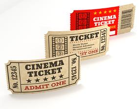Cinema Tickets 3D