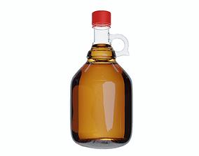 3D print model Vintage Cider Bottle