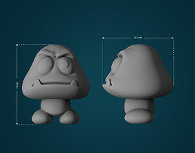 3D printable model Goomba from Mario