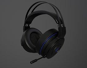 3D model game Gaming Headphones Blazer