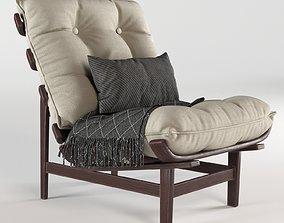 3D Lounge Chair Moveis Pailar
