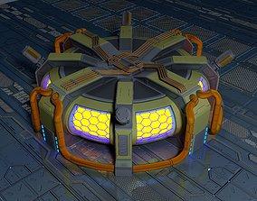 3D asset Sci-Fi Fusion Reactor