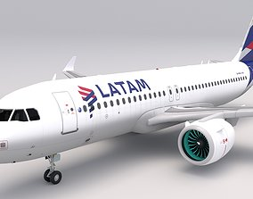 3D model Latam Airlines A320