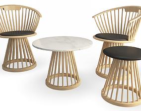 Fan Furniture Collection Tom Dixon 3D
