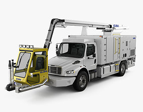 Freightliner M2 106 Global Ultimate 2200 Service Truck 3D