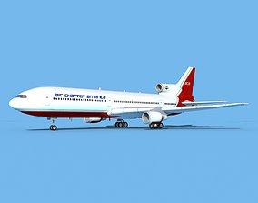 Lockheed L-1011 Air Charter America 3D model