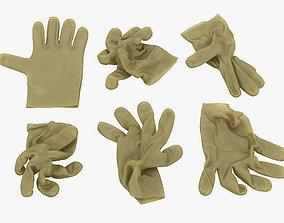 3D model Latex Gloves
