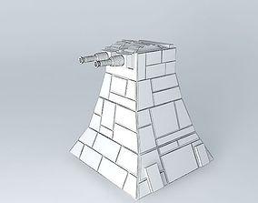 Turbolaser tower death star - Star Wars 3D
