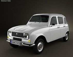Renault 4 R4 hatchback 1974 3D