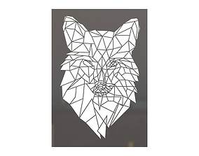 Fox frame picture 3D printable model