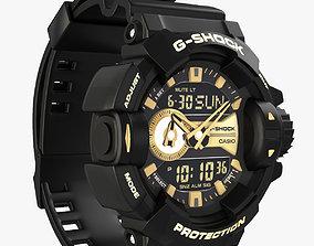 watches Casio G-Shock GA-400GB 3D Model
