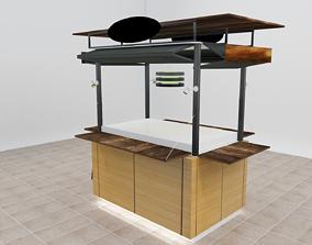 Cart for Mall 3D model