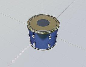 realtime Tom Tom Drum 3D Model