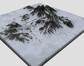 3D Snowy Mountain MTT05