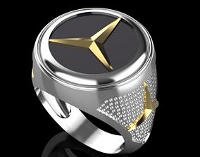 Benz ring 3D print model