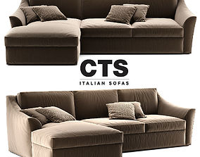 Passion sofa by CTS Salotti 3D model