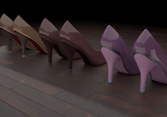 High heel women shoes 01 p1