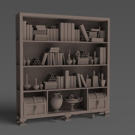 Шкаф с магическими предметами
