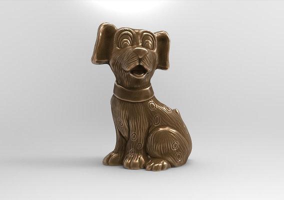 Cheerful Puppy 3D print model