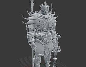 Samurai Warrior 3D print model