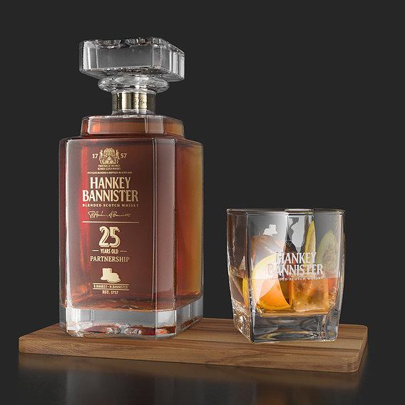 Hankey Bannister 25 YO Carafe Bottle
