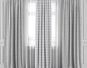 Curtain Set 282C 3D model