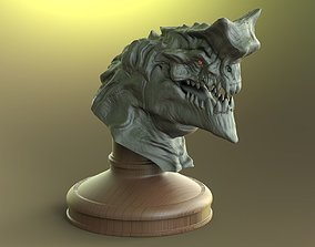 3D model Dragon Bust