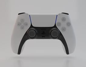 3D PS5 Controller DualSense model