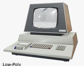3D asset Retro Computer 07